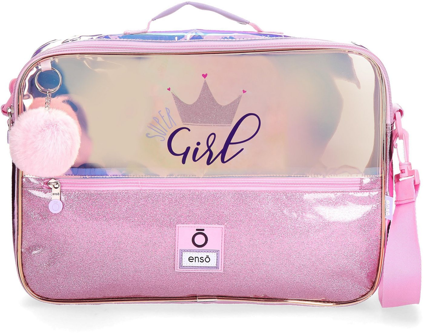 otto - Umhängetasche »Super Girl, rosa«