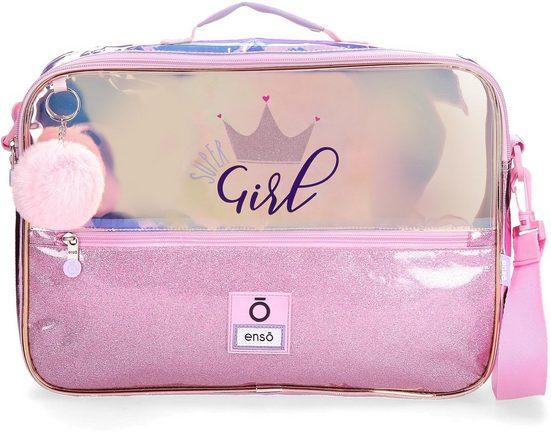Umhängetasche »Super Girl, rosa«