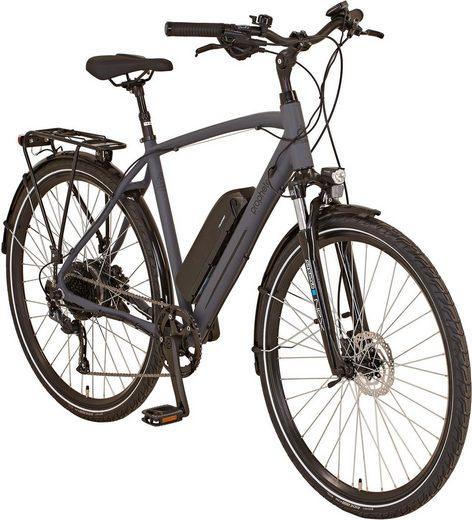"Prophete E-Bike »ENTDECKER Trekking E-Bike 28""«, 8 Gang Shimano Shimano Altus Schaltwerk, Kettenschaltung, Heckmotor 250 W"