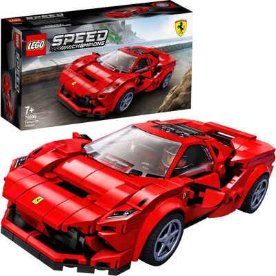 LEGO® Konstruktionsspielsteine »Ferrari F8 Tributo (76895), LEGO® Speed Champions«, (275 St), Made in Europe
