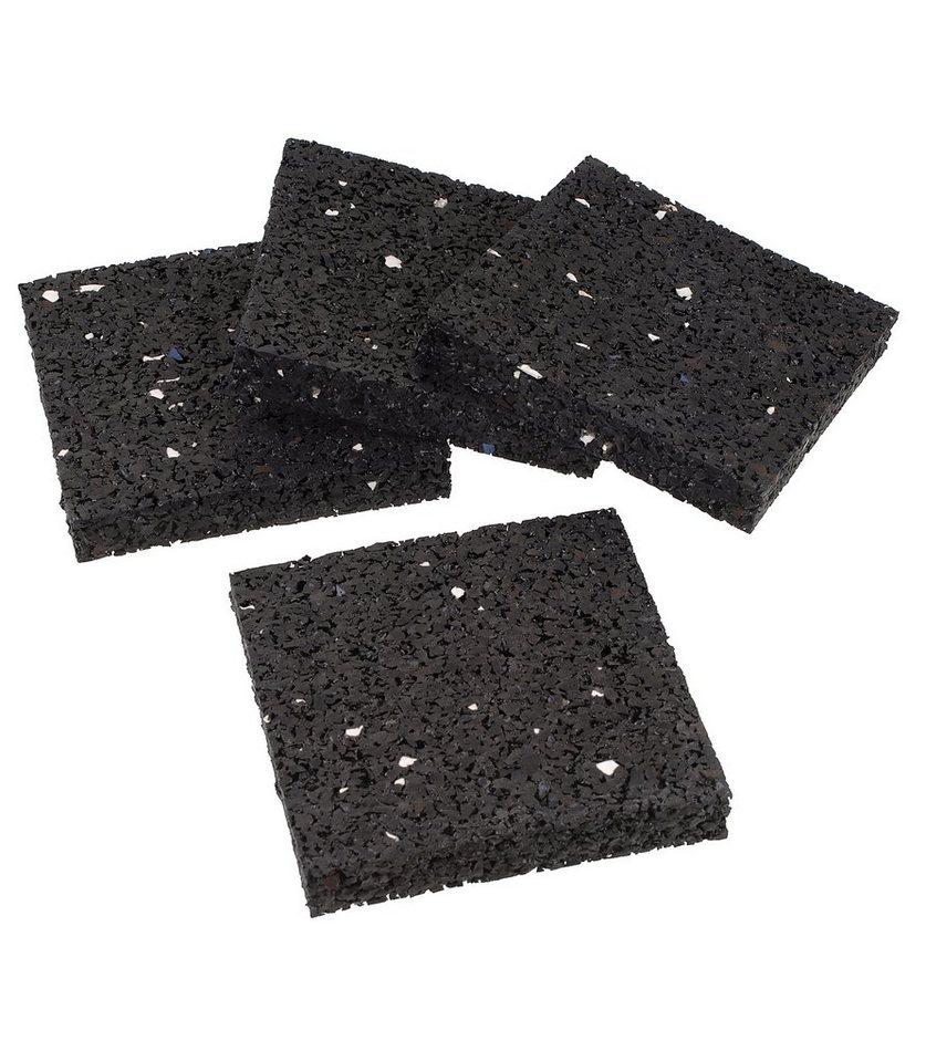 Sanitärarmaturenzubehör »Dämmunterlage« in schwarz