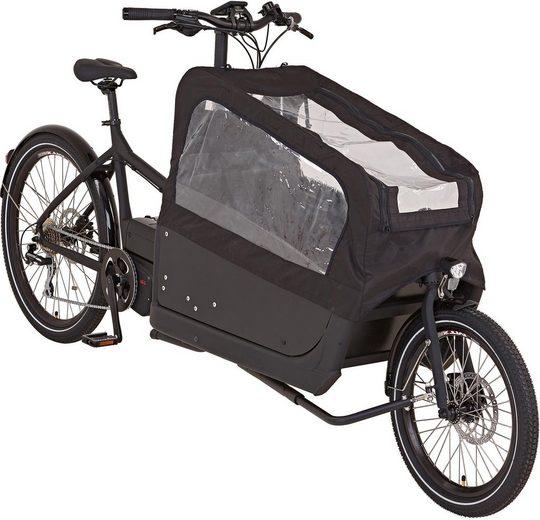 "Prophete E-Bike »CARGO Plus E-Bike 20""/26""«, 8 Gang Shimano Shimano Acera Schaltwerk, Kettenschaltung, Mittelmotor 250 W"