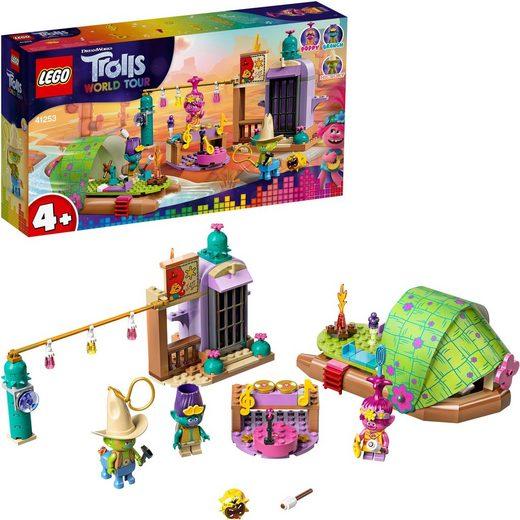 LEGO® Konstruktionsspielsteine »Floßabenteuer in Einsamshausen (41253), LEGO® Trolls«, (159 St)