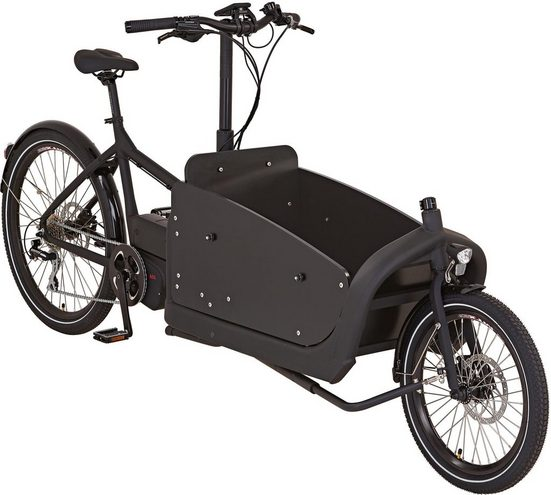 "Prophete E-Bike »CARGO E-Bike 20""/26""«, 8 Gang Shimano Shimano Acera Schaltwerk, Kettenschaltung, Mittelmotor 250 W"