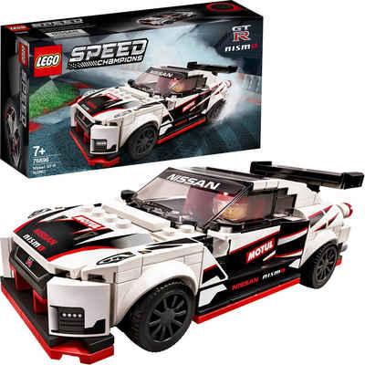 LEGO® Konstruktionsspielsteine »Nissan GT-R NISMO (76896), LEGO® Speed Champions«, (298 St), Made in Europe