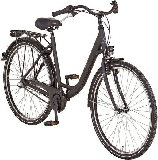 """Prophete Cityrad »GENIESSER 20.BSC.10 City Bike 28""""«, 3 Gang Shimano, Nabenschaltung"""