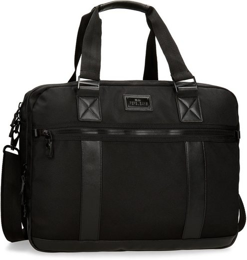 Pepe Jeans Laptoptasche »Allblack, schwarz«