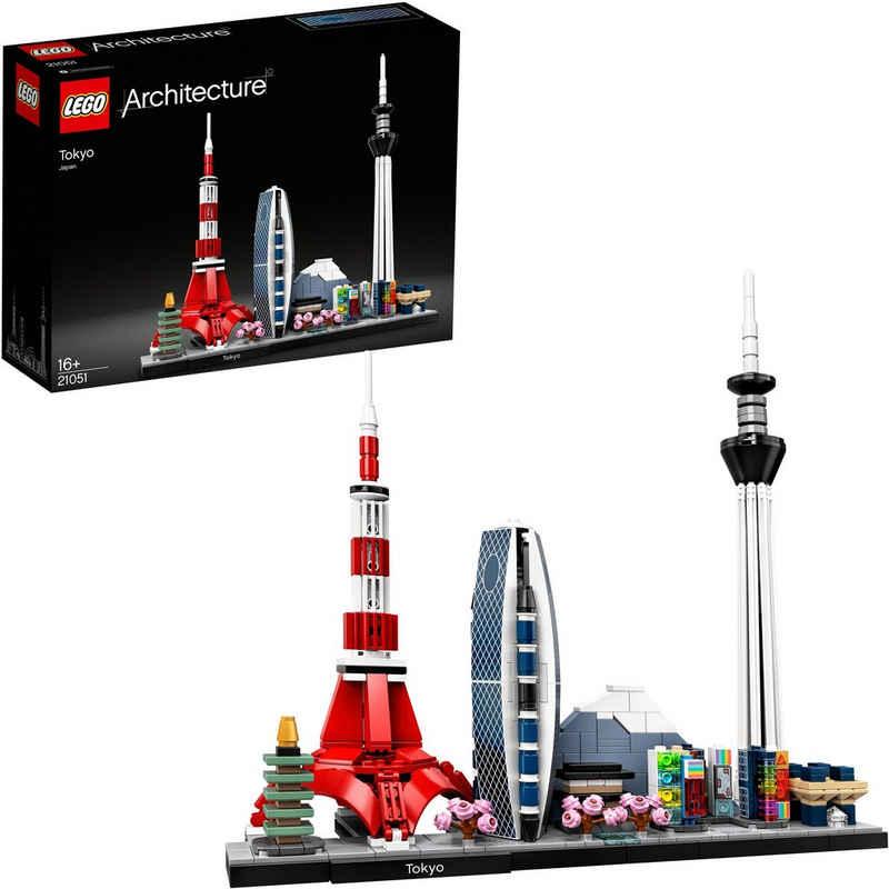 LEGO® Konstruktionsspielsteine »Tokio (21051), LEGO® Achritecture«, (547 St), Made in Europe