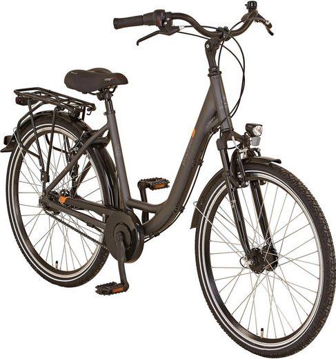 "Prophete Cityrad »GENIESSER 20.BMC.10 City Bike 26""«, 7 Gang Shimano, Nabenschaltung"