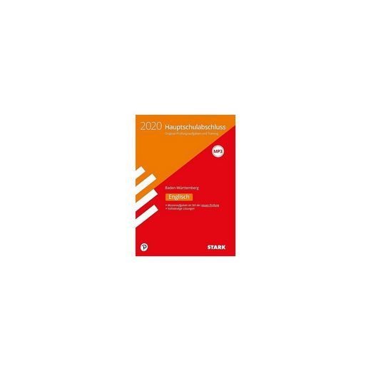 Stark Verlag Hauptschule 2020 - Englisch 9. Klasse - Baden-Württemberg