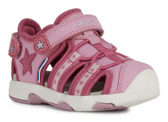 Geox Kids »B Sandal Multy Girl« Sneaker mit praktischen Klettverschlüssen