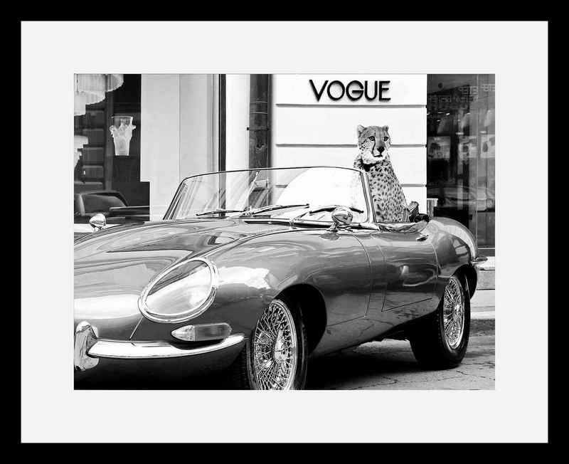 G&C Bild »En Vogue«, mit Rahmen, 50/40 cm