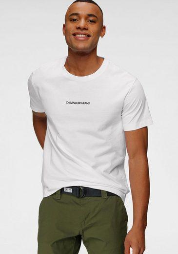 Calvin Klein Jeans T-Shirt »INSTIT CHEST LOGO REG TEE«