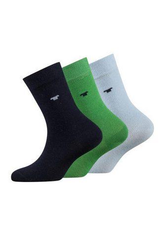 TOM TAILOR Базовые носки (Набор 3 пар)