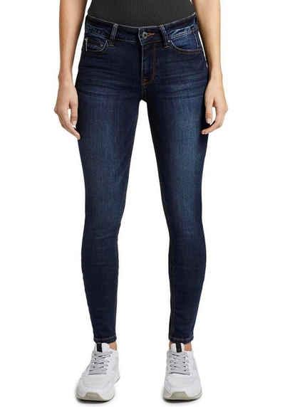 TOM TAILOR Denim Skinny-fit-Jeans mit starker Waschung