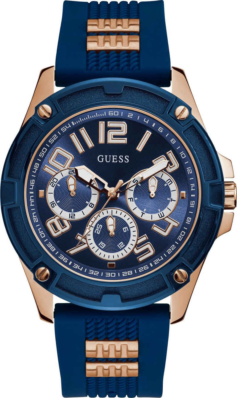 Guess Multifunktionsuhr »DELTA, GW0051G3«