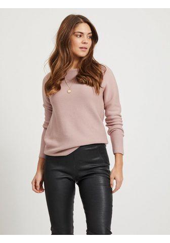 VILA Пуловер с круглым вырезом »LAINE...