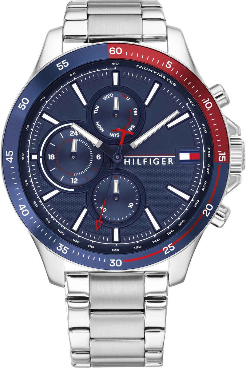 Tommy Hilfiger Multifunktionsuhr »CASUAL, 1791718«