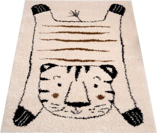 Kinderteppich »Tiger Baxley«, Zala Living, rechteckig, Höhe 35 mm, Spielteppich, besonders weich durch Microfaser