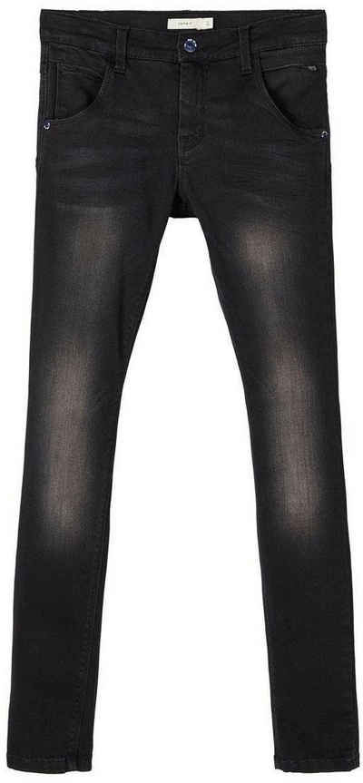 Name It Stretch-Jeans »NITCLAS XSL/XSL DNM PANT« mit Teilungsnähten