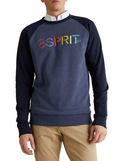 Esprit Sweatshirt mit farbenfrohem Logo-Print