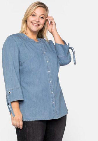 SHEEGO Джинсовая блузка