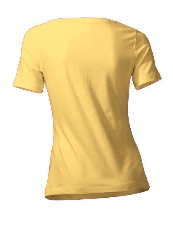 Casual sportiver Look Online Heine Kaufen Rundhalsshirt BasicLässig PXN8Okn0wZ