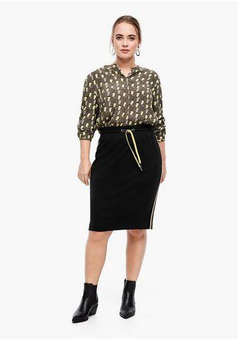 TRIANGLE Trikotažinis sijonas