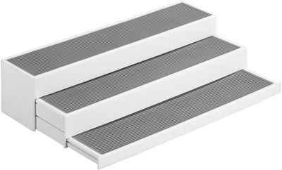 WENKO Ablageregal »Steps«, 3-stufig, ausziehbar