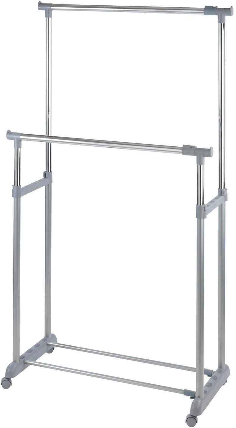WENKO Kleiderständer »Twin Bars«, höhenverstellbar