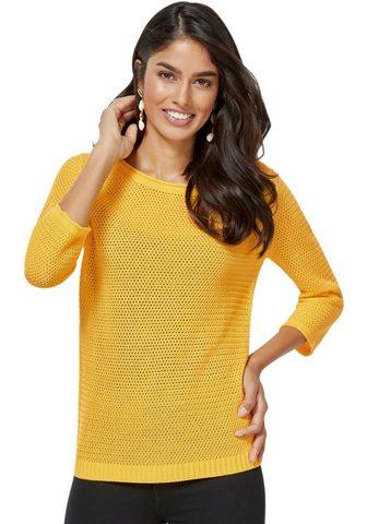 Пуловер в luftig leichten Ajourstrickm...