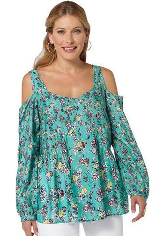 CLASSIC INSPIRATIONEN Блуза в цветочный дизайн