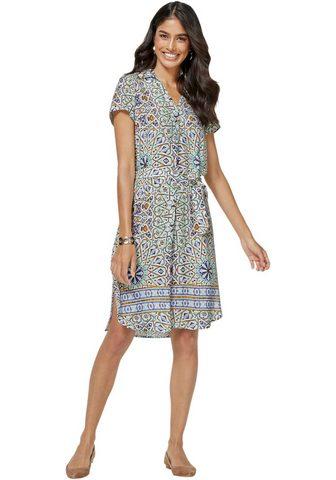 CLASSIC INSPIRATIONEN Платье с Kaleidoskop-Muster