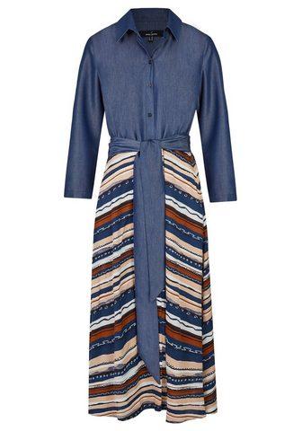 DANIEL HECHTER Moderni suknelė su surišamas diržas
