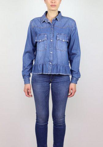 LE TEMPS DES CERISES Džinsiniai marškinėliai im lässigen st...