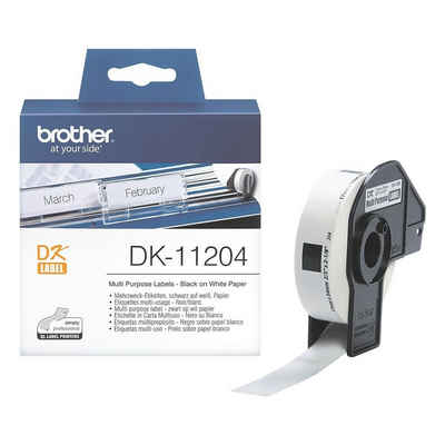 Brother Thermorolle »DK11204«, 400 Mehrzweck-Etiketten B/L 17/54 mm