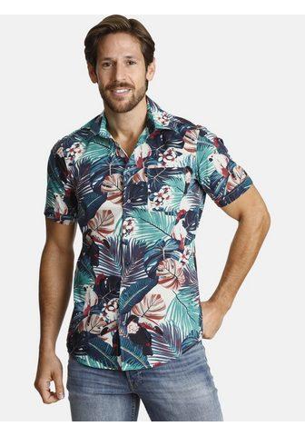 SHIRTMASTER Рубашка с короткими рукавами »tr...