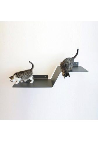 LUCYBALU Pakabinamas kačių stovas su draskykle ...