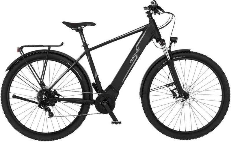 FISCHER Fahrräder E-Bike »TERRA 5.0i«, 10 Gang SRAM GX Schaltwerk, Kettenschaltung, Mittelmotor 250 W