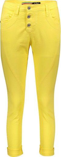 Please Jeans 5-Pocket-Jeans  P78A  lässige Boyfriend Jeans in leichter Crinkle Optik und krempelbarem Bein