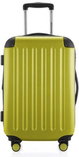 Hauptstadtkoffer Hartschalen-Trolley »Spree, 55 cm, farn«, 4 Rollen