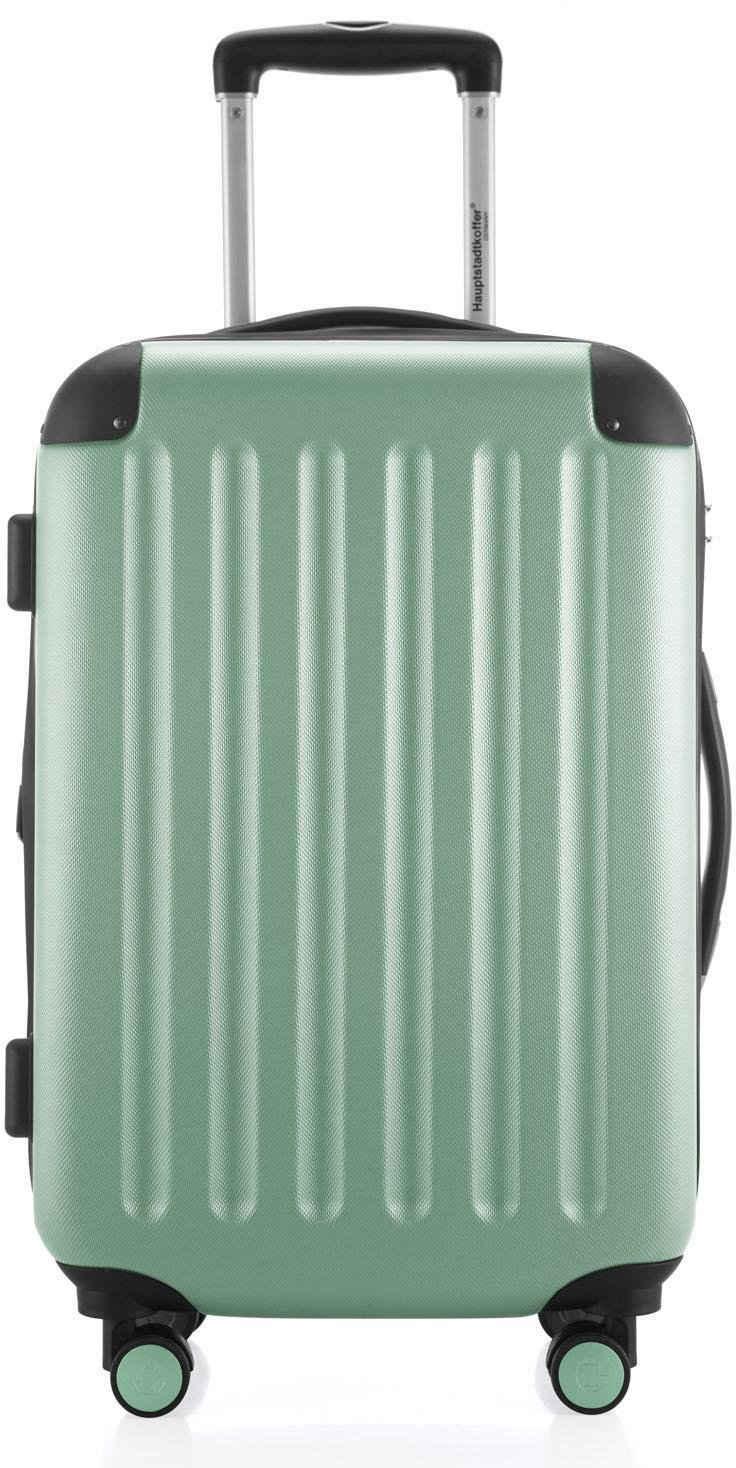 Hauptstadtkoffer Hartschalen-Trolley »Spree, 55 cm, mint«, 4 Rollen