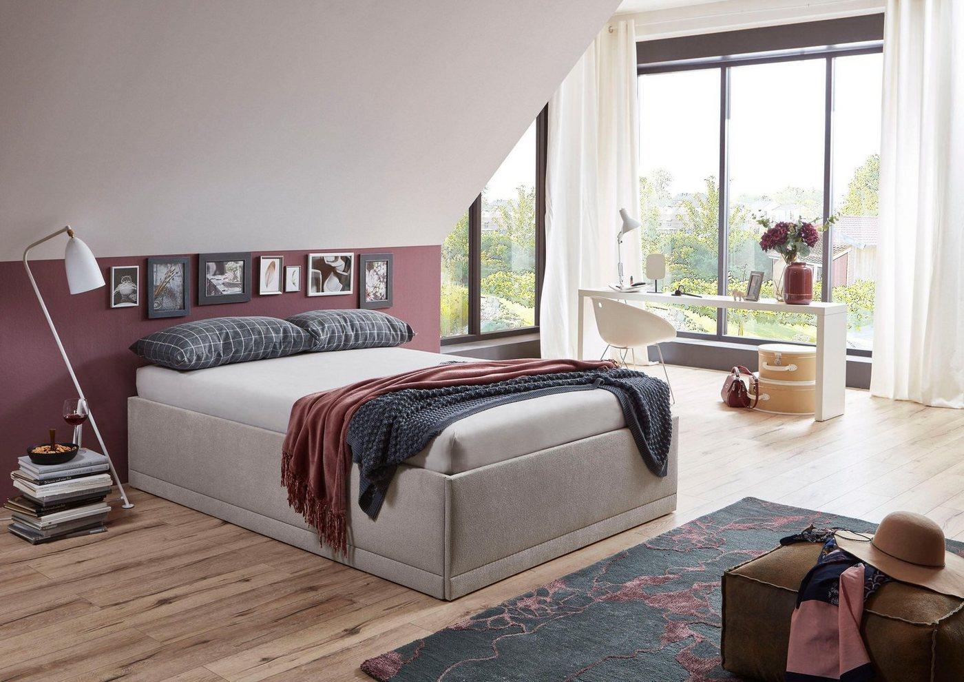 Westfalia Schlafkomfort Polsterbett »Texel«, mit Zierkissen, Standardhöhe günstig online kaufen