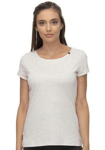 Ragwear T-Shirt »FLORAH A ORGANIC« Peta- approved Vegan
