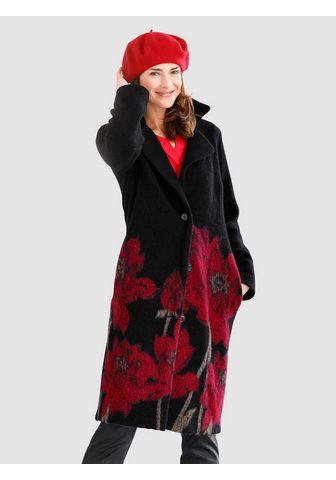 MONA Пальто с Blüten-Motiv