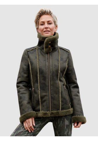 MONA Куртка в Lammfell-Optik