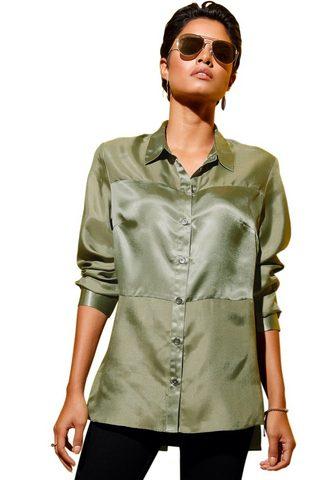 CRÉATION L Creation L Ilgi marškiniai su kontrast...