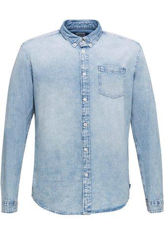 EDC BY ESPRIT Рубашка джинсовая