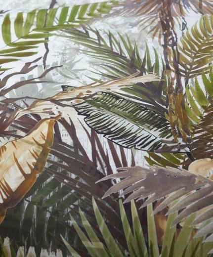 Wendebettwäsche »Jane«, Essenza, mit Dschungel-Motiv