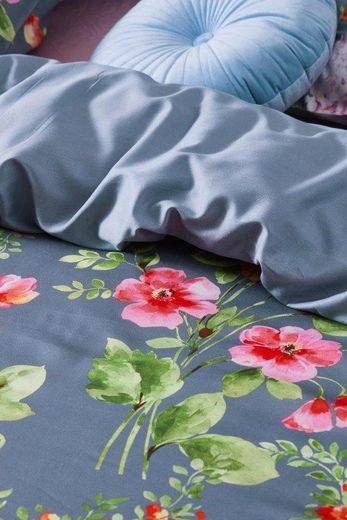 Wendebettwäsche »Claudi«, Essenza, mit prächtigen Blumen